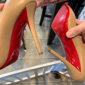 Christian Louboutin Shoes - LIKE NEW Louboutins! Worn ONLY 1 time!!